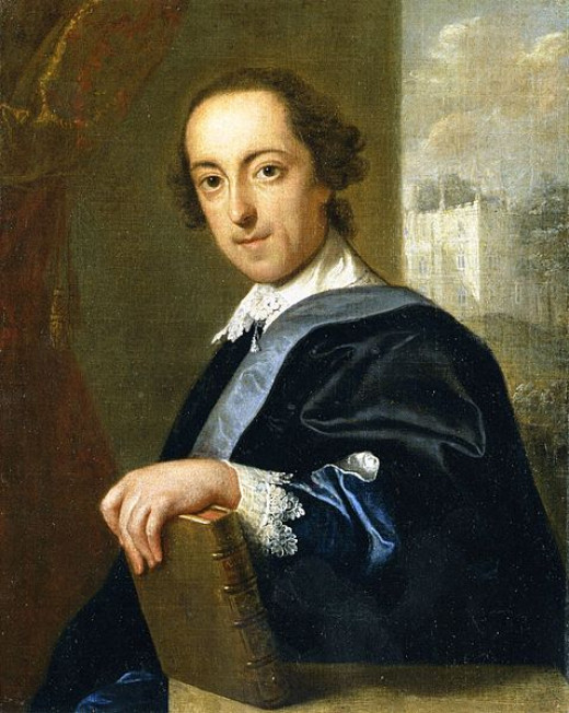Portrait of Horace Walpole (1754)