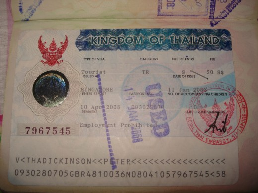 This is what they stick in your passport when you obtain an actual visa in a Thai Embassy in another country.