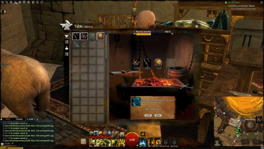 The Discovery pane in Guild Wars 2 crafting were a player learns new recipes for their craft.
