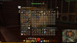 The collectibles tab in the bank where every crafting mat has its own preset spot to be deposited into the bank.