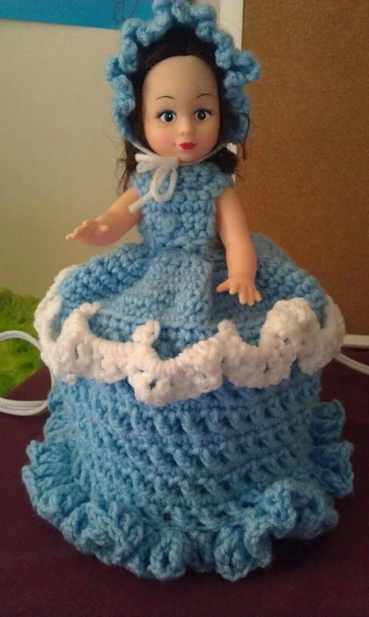 Toilet Roll Doll: Restore and Repurpose Dolls