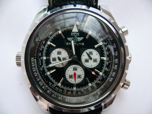 A Breitling MPH watch