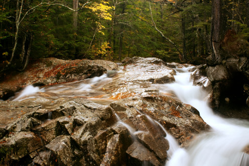 The Cascades, White Mountain National Forest, New Hampshire