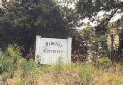 Fidelity, Missouri, cemetery