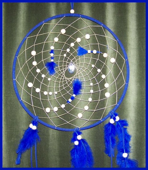How to make a native american dream catcher for How to make dreamcatchers