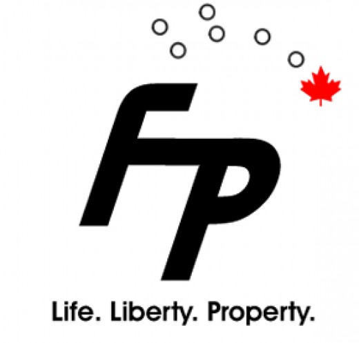 The Freedom Party of Ontario's logo