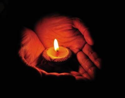 """It is better to light a candle than to curse the darkness"". Mother Teresa"