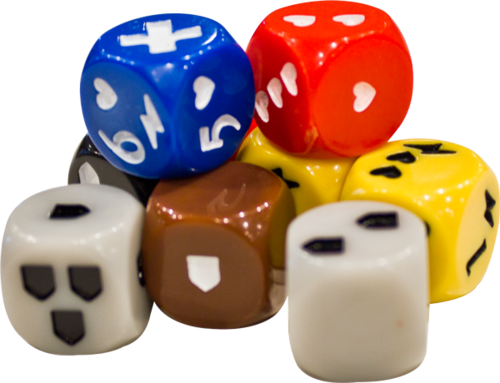 The custom dice