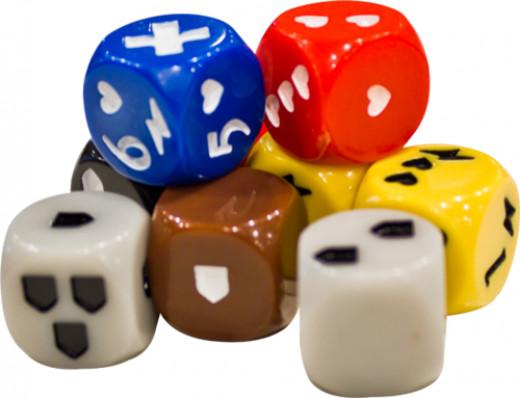 The custom dice