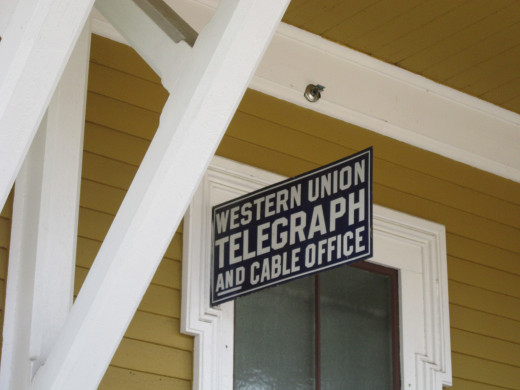 Western Union Telegraph Station in North Conway Scenic Railroad