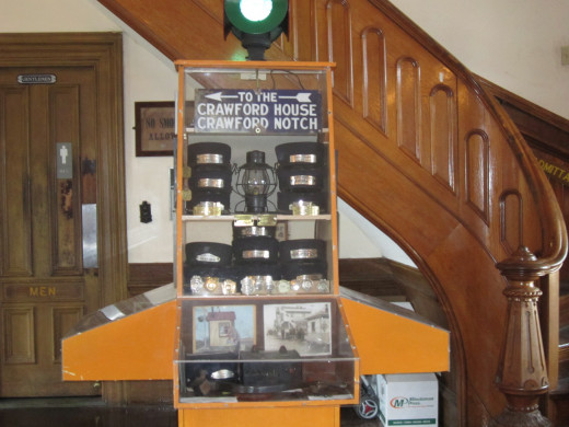 Historical Installations at the North Conway Scenic Railroad.