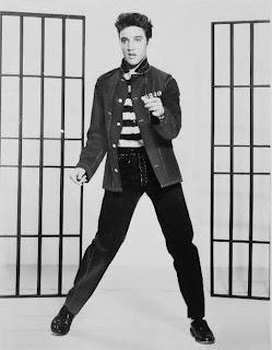 Elvis Presley in Jailhouse Rock 1957