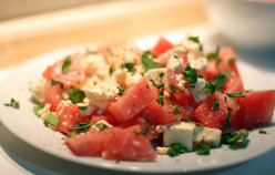 Watermelon Salad Recipe With Tomatoes And Feta