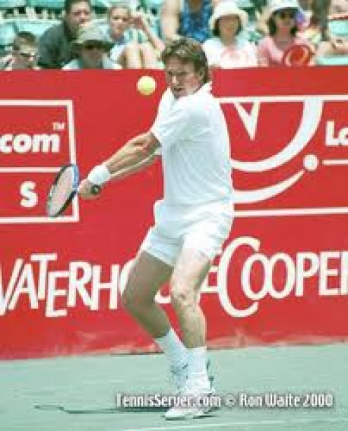 Jimmy Conners is a legend in the sport of Tennis. He holds several records and he has had many endorsements.