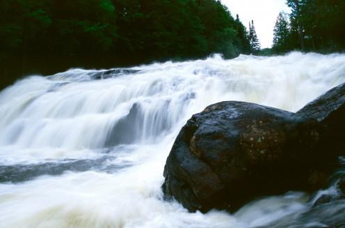 Buttermilk Falls, Adirondack State Park, New York