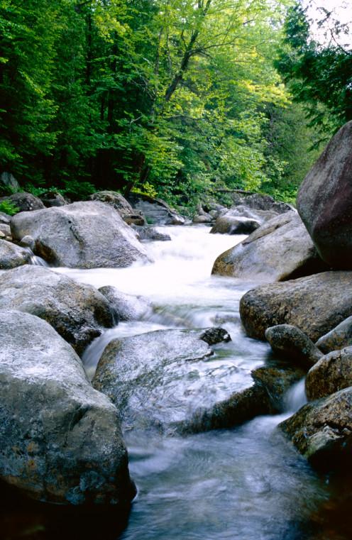 Autrain River, Adirondack State Park, New York