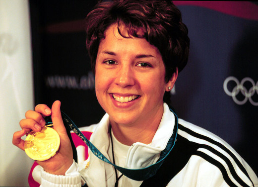 Now, while we may not all be destined for achievements like Nancy's Olympic gold here - that shouldn't prevent us from trying for our own gold standard. Achievement and a sense of success are important aspects of general wellbeing.