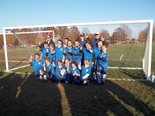 SYSA Under 11 Girls Team Undefeated 2011 Season