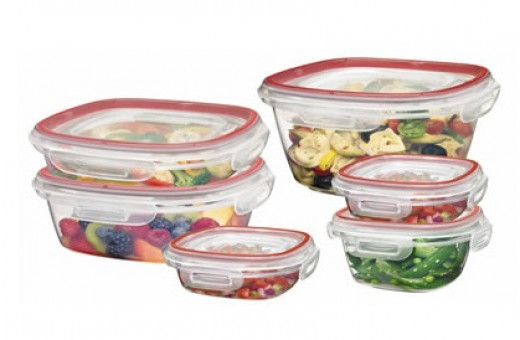 Rubbermaid Lock-Its: BPA FREE