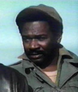Ivan Dixon as Hogan's Heroes' Sgt. Ivan Kinchloe