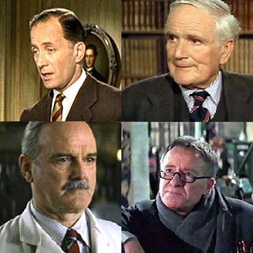 The many faces of Q in James Bond movies including the late Desmond Llewellyn, who played Q in 17 Bond films from 1963 to 1999.