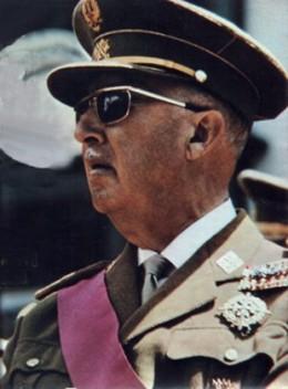 Genralisimo Francisco Franco in 1969.