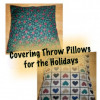 Make Reversible Holiday Slipcovers