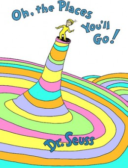 What was Dr.Seuss's last book?  Oh, The Places You'll Go! is one of the two cotenders.  Keep reading to find out more.