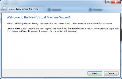 Create New VM