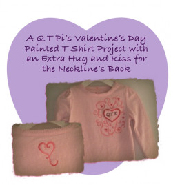 Paint a T-Shirt for a Valentines Day Gift: Holiday Project 1