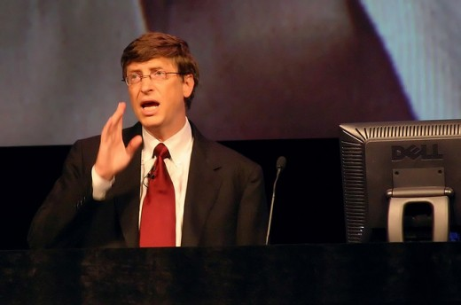 Bill Gates is someone that seems to have been born with entrepreneurial traits, but was he?