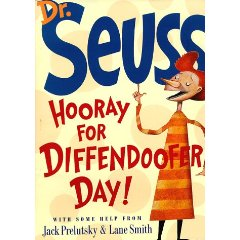 """This might also be Dr.Seuss's last book, depending on your definition of """"last book""""."""