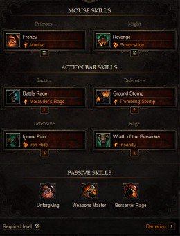 High DPS Barbarian Build