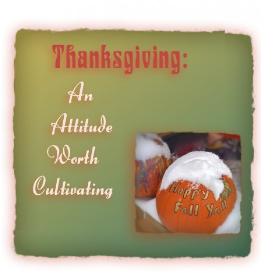 Cultivating Thankfulness Everyday!