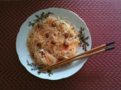 Rice Vermicelli Salad Recipe