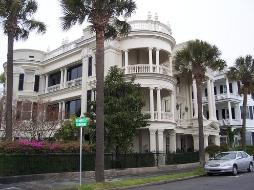 A home on the Battery in historic Charleston