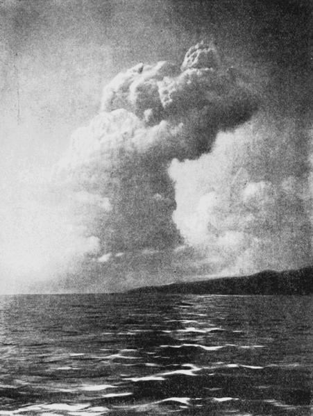 Mt. Pelee july 16, 1902