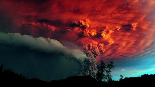 Volcanic Eruptions in the Ring of Fire and South America are on the increase displacing thousands.