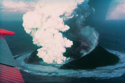 Surtseyan Eruption