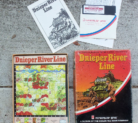 The Avalon Hill 1982 war game (text only).