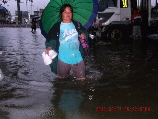 it was knee-deep in the streets the time I finally decided to see for myself what the people were talking about.