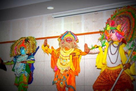 Brahma, Vishnu and Shiva