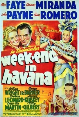 Weekend in Havana (1941)