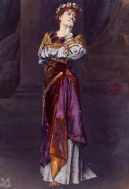 Actress Ellen Terry is said to haunt the Lyceum Theatre.