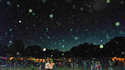 Orbs come out in force to celebrate the realm of the faerie.