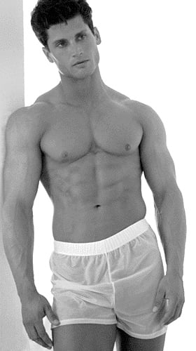 IN MY TEEN YEARS I HAD A DECENT BODY AND WITH A LITTLE WORK, I COULD HAVE MADE A GOOD UNDERWEAR MODEL.