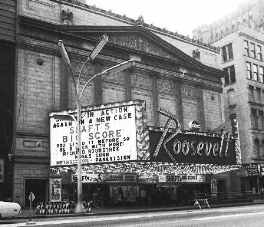 The Roosevelt Theater on State Street in Chicago in 1972.