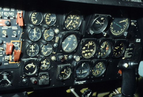 Aircraft Cockpit Instruments
