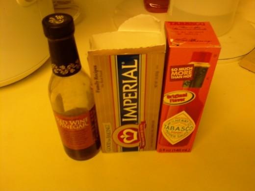 Buffalo Sauce ingredients