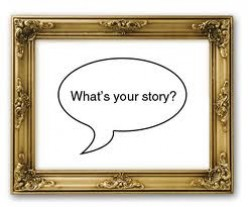 If you tell stories from your past, are they true?